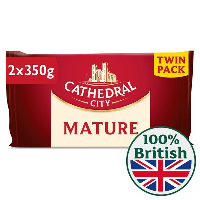 Cathedral City Mature Cheese Twin Pack