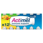 Actimel Multifruit Yogurt Drinks