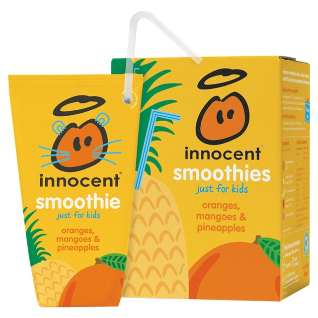 Morrisons: Innocent Kids Orange Mango & Pineapple Smoothies 4 x