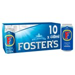 Foster's Lager Beer Cans