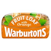 Warburtons Orange Fruit Loaf