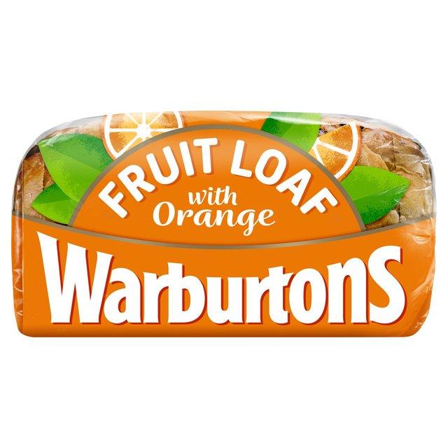 Warburtons Orange Fruit Loaf