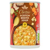 Morrisons Scotch Broth with Mutton, Onion, Carrot & Peas