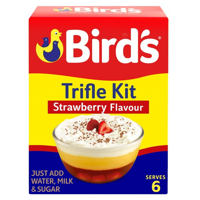 Morrisons Birds Strawberry Trifle Flavour Mix 144gproduct