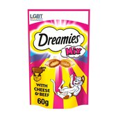 Dreamies Mix with Delicious Cheese and Tempting Beef