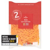 Morrisons Grated Red Leicester