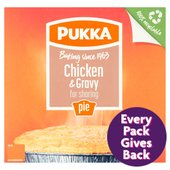 Pukka Family Size Chicken & Gravy Pie