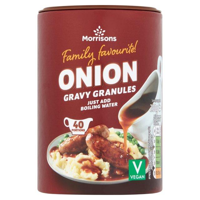 Morrisons Onion Gravy Granules