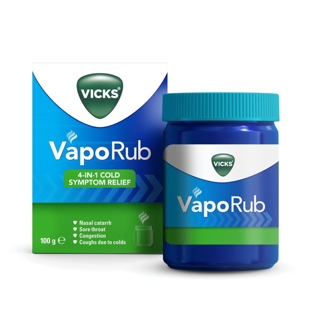 Vicks VapoRub Relief Of Cough, Cold & Flu Like Symptoms Jar