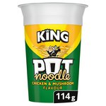 Pot Noodle King Chicken & Mushroom