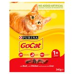 Go-Cat Adult Cat Food Beef, Chicken and Liver