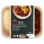 Morrisons Steak & Ale with Cheesy Mash