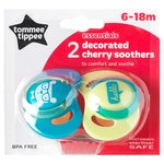 Tommee Tippee Decorated Cherry Soothers