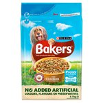 Bakers Puppy Food Chicken and Vegetable