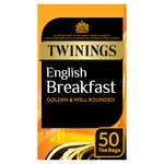 Twinings English Breakfast Tea Bags 50s