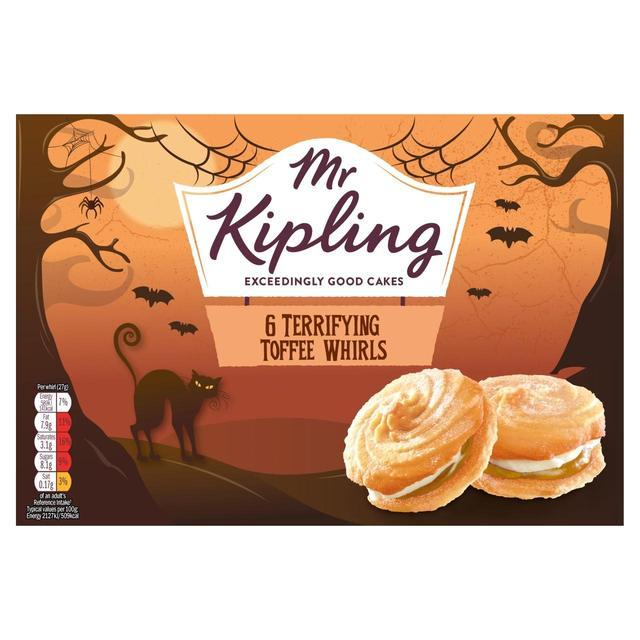 MORRISONS > Bakery > Mr Kipling Toffee Terror Whirls