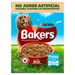 Bakers Puppy Food Beef and Vegetable