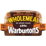 Warburtons Medium Wholemeal Loaf