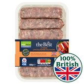 Morrisons The Best Thick Lincolnshire Sausages