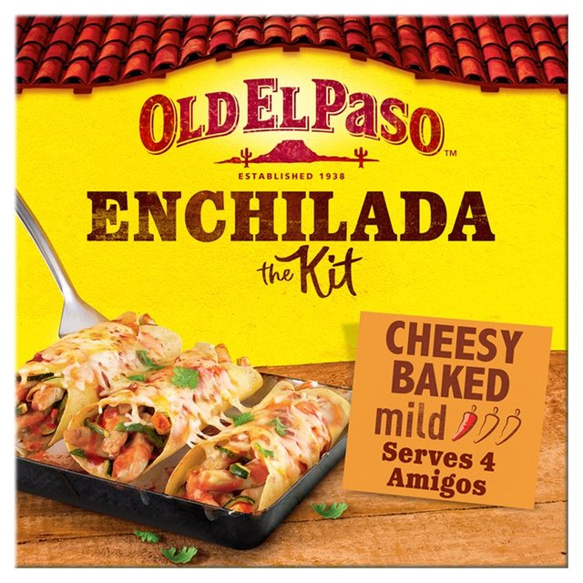 Old El Paso™ Products You've got your friends together, the music's playing and you're in the mood for inspired by authentic Mexican feast. Whatever you get stuck into, our soft and toasty, oven baked tortillas, chunky salsa, and twice cooked, crunchy chips will add the spirit and flavour of Old El Paso.