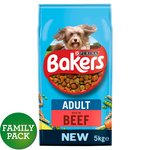 Bakers Adult Complete Dog Food Beef and Vegetable