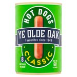 Ye Olde Oak 8 Hot Dogs in Brine (400g)