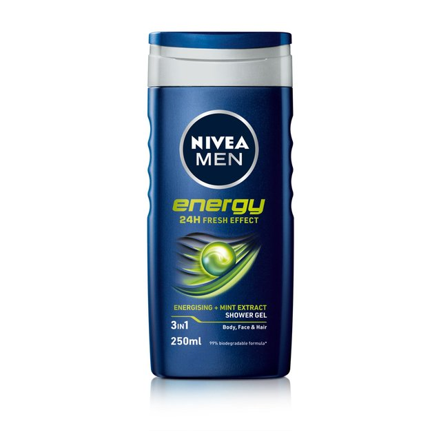 NIVEA Men Shower Gel, Energy