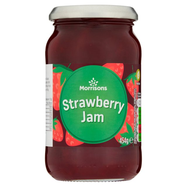 Morrisons: Morrisons Strawberry Jam 454g(Product Information)