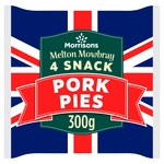 Morrisons Melton Mowbray Snack Pork Pies