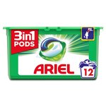 Ariel 3in1 Pods Regular Washing Capsules 12 washes