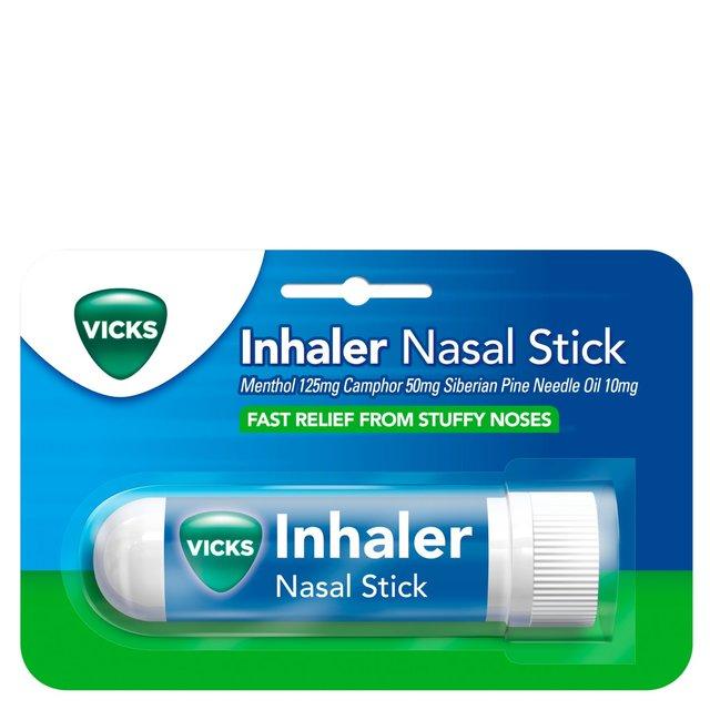 Vicks Inhaler Fast Acting Decongestant For Blocked Nose Relief Stick