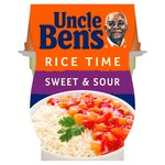 Uncle Bens Rice Time Sweet And Sour Ready Meal Pot
