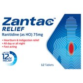 Zantac Relief Ranitidine (as HCI) 75mg Tablets