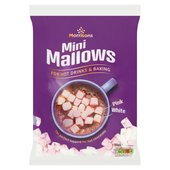 Morrisons Pink & White Mini Marshmallows