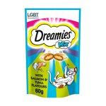 Dreamies Pouch Mix with Scrumptious Salmon & Heavenly Tuna