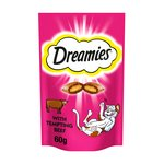 Dreamies Pouch with Tempting Beef