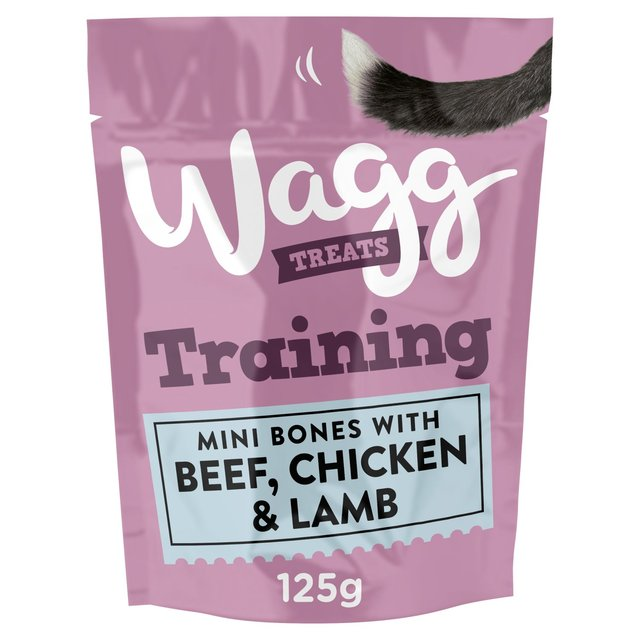 Wagg Training Treats with Chicken, Beef and Lamb