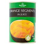 Morrisons Orange Segments in Juice (411g)