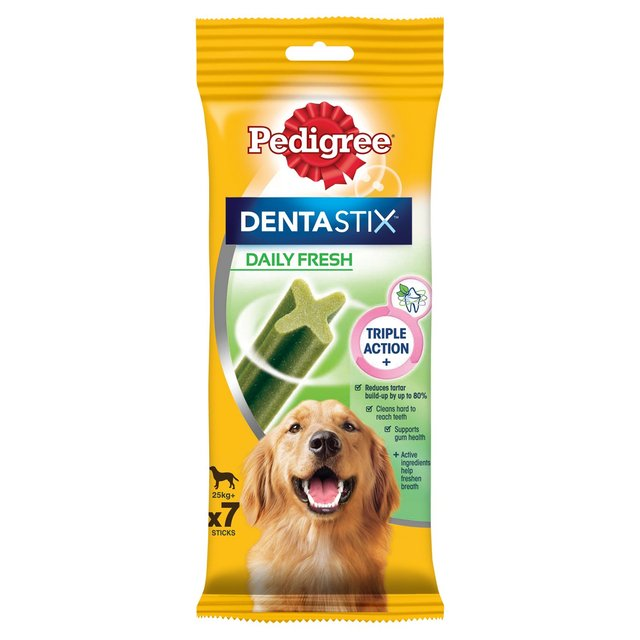 Pedigree Daily Dentastix Fresh 25kg+ 7 Pack