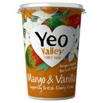 Yeo Valley Family Farm Mango & Vanilla Yogurt