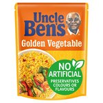 Uncle Bens Golden Vegetable Microwave Rice