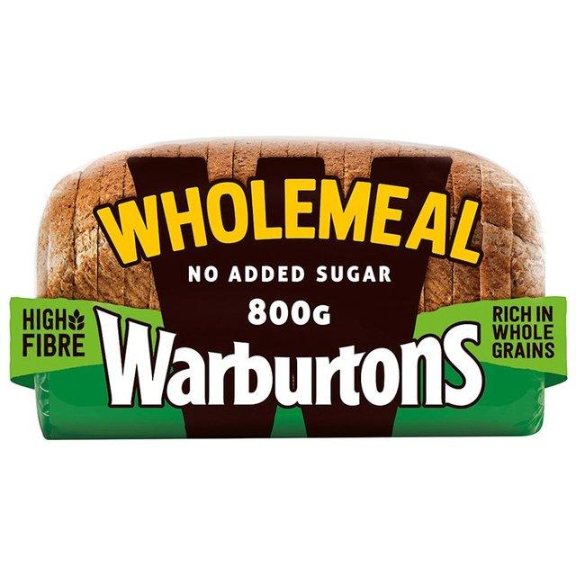 MORRISONS > Bakery > Warburtons Wholemeal Medium Bread