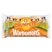 Warburtons Deliciously Fluffy Crumpets