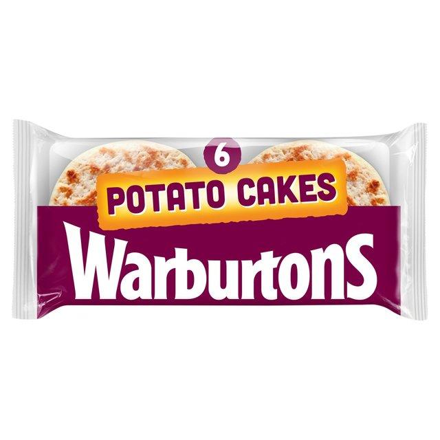 MORRISONS > Bakery > Warburtons Potato Cakes