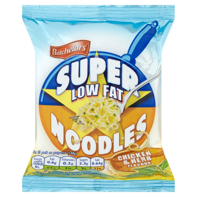 Batchelors Super Low Fat Noodles Chicken & Herb Flavour