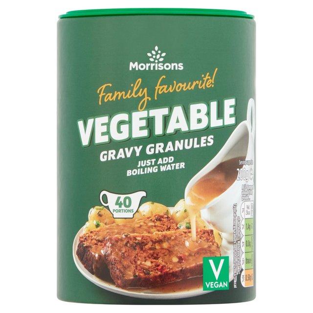 Morrisons Vegetable Gravy Granules