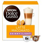 Nescafé Dolce Gusto Latte Macchiato Skinny / Light Coffee Pods 8s