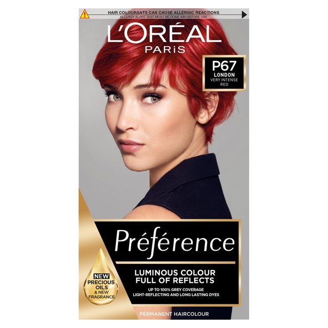 Morrisons Loreal Paris Feria Permanent Colour Scarlet Power Extra