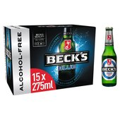 Beck's Blue Alcohol-Free Beer Bottles
