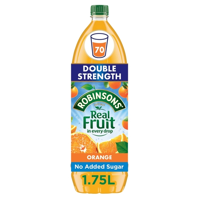 Robinsons No Added Sugar  Double Concentrate Orange Squash